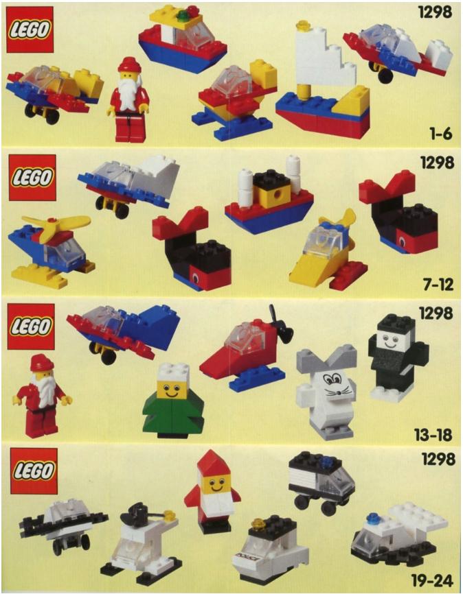 first LEGO advent calendar