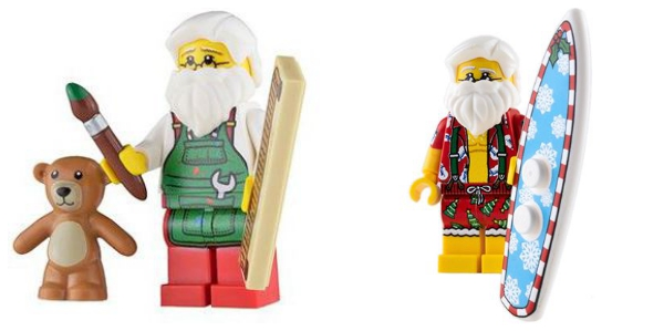 lego christmas: custom santa