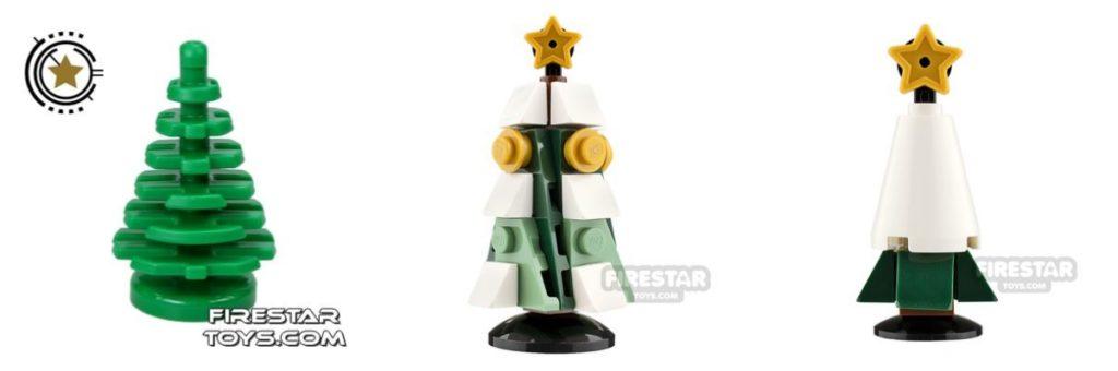 lego christmas: trees