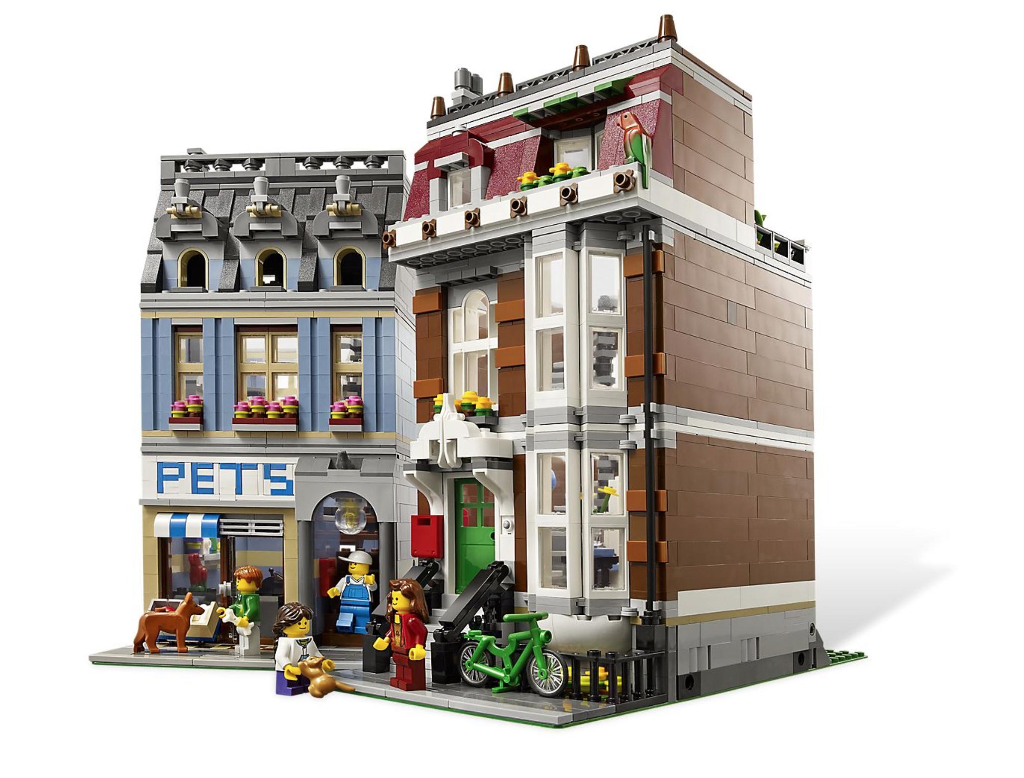 lego modular pet shop