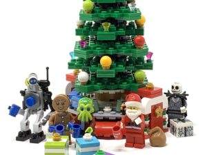 A LEGO Christmas Tree Just Before Christmas