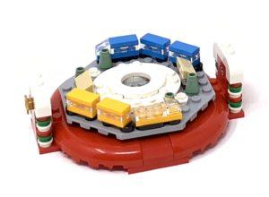 lego christmas tree trains