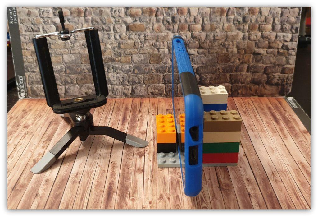 lego stop motion setup