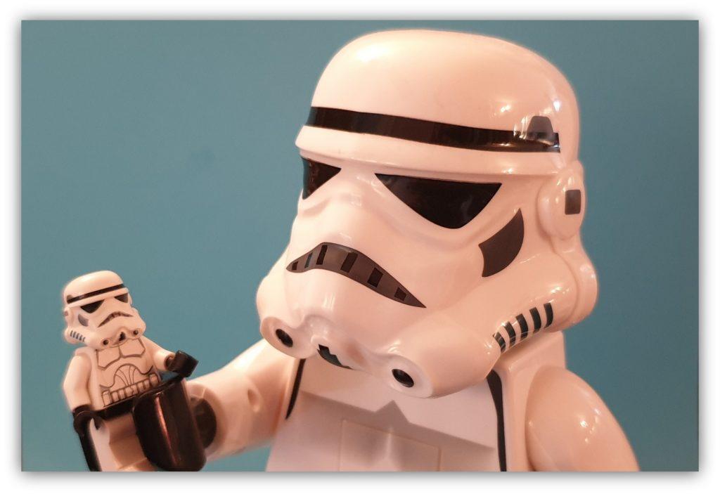 lego torch stormtrooper