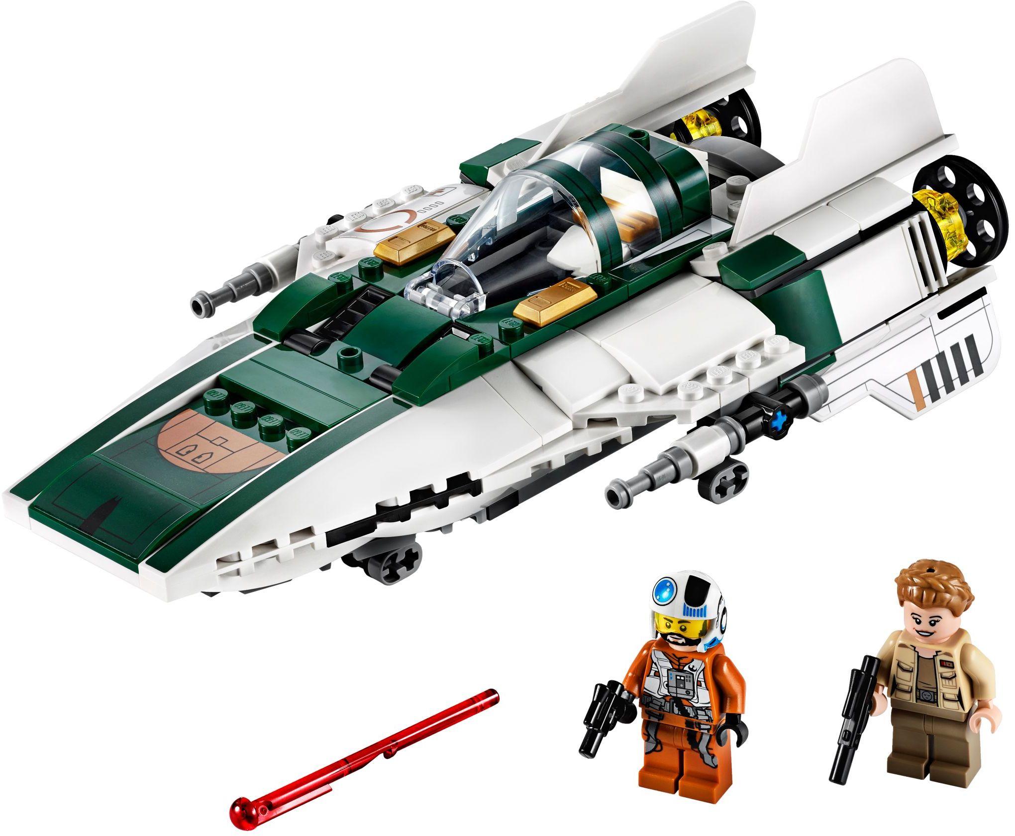 LEGO Rise of Skywalker Sets A-Wing