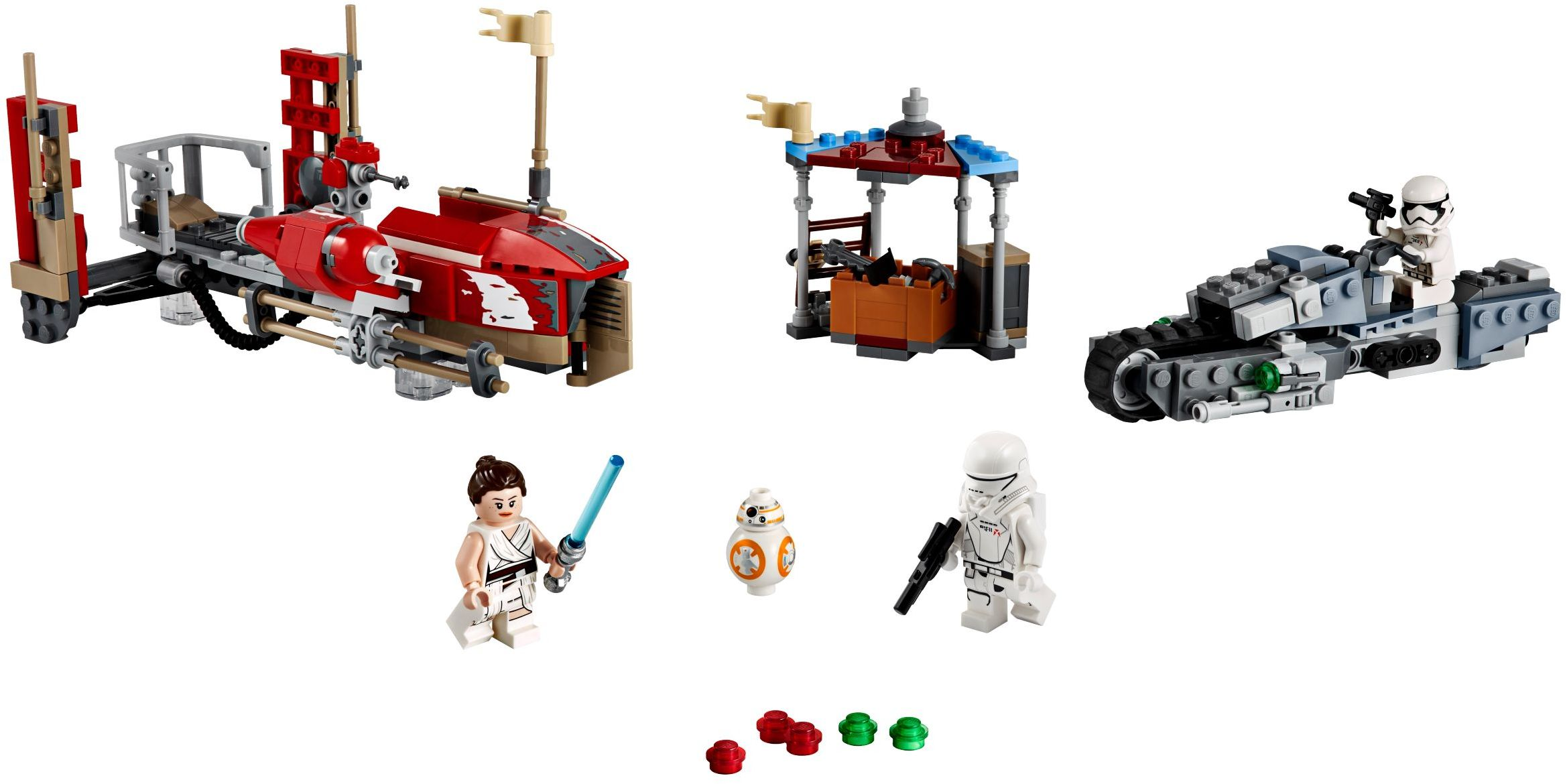 LEGO Rise of Skywalker Sets Speeder Set