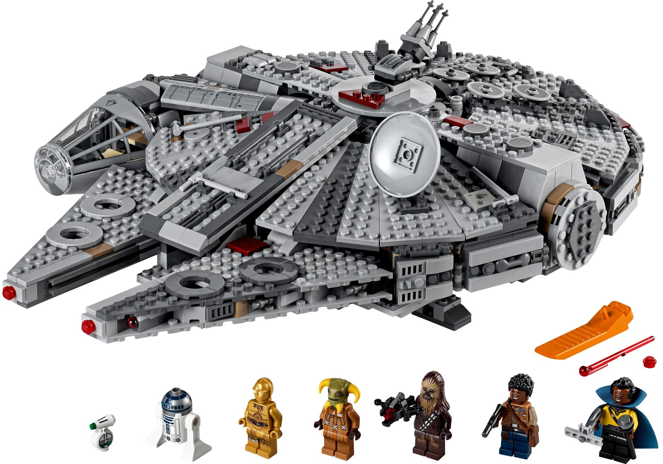 LEGO Rise of Skywalker Sets Falcon
