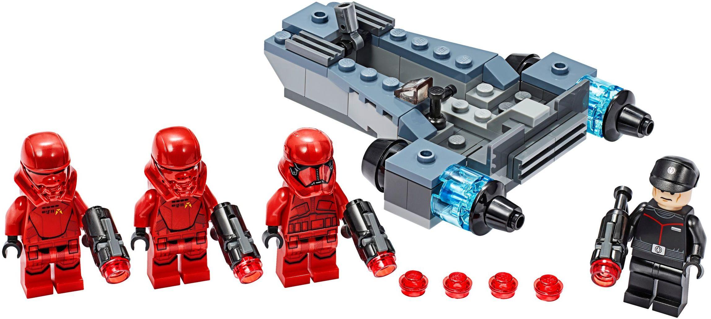 LEGO Rise of Skywalker Sets Troop Pack