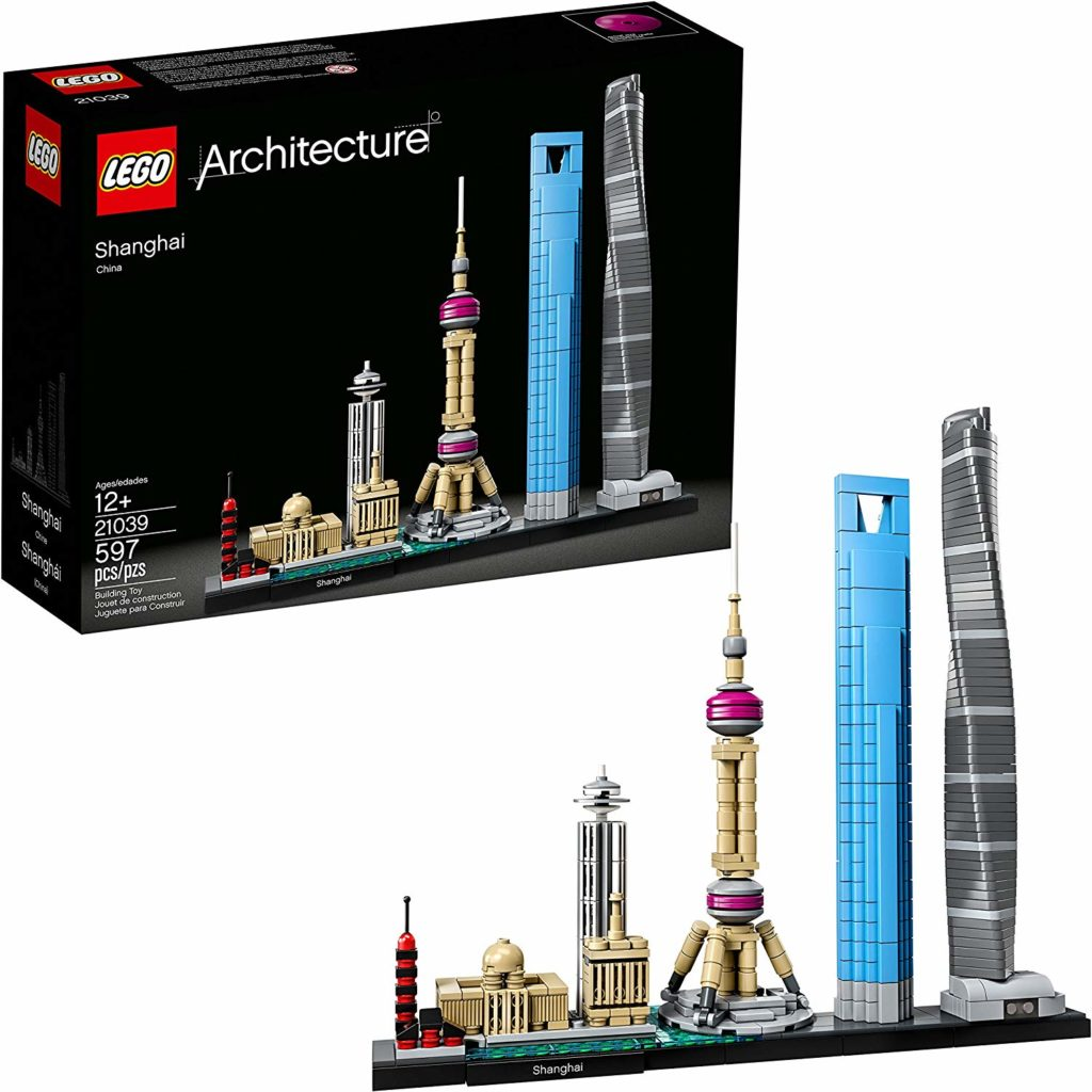 LEGO Architecture Sets: Shanghai Skyline