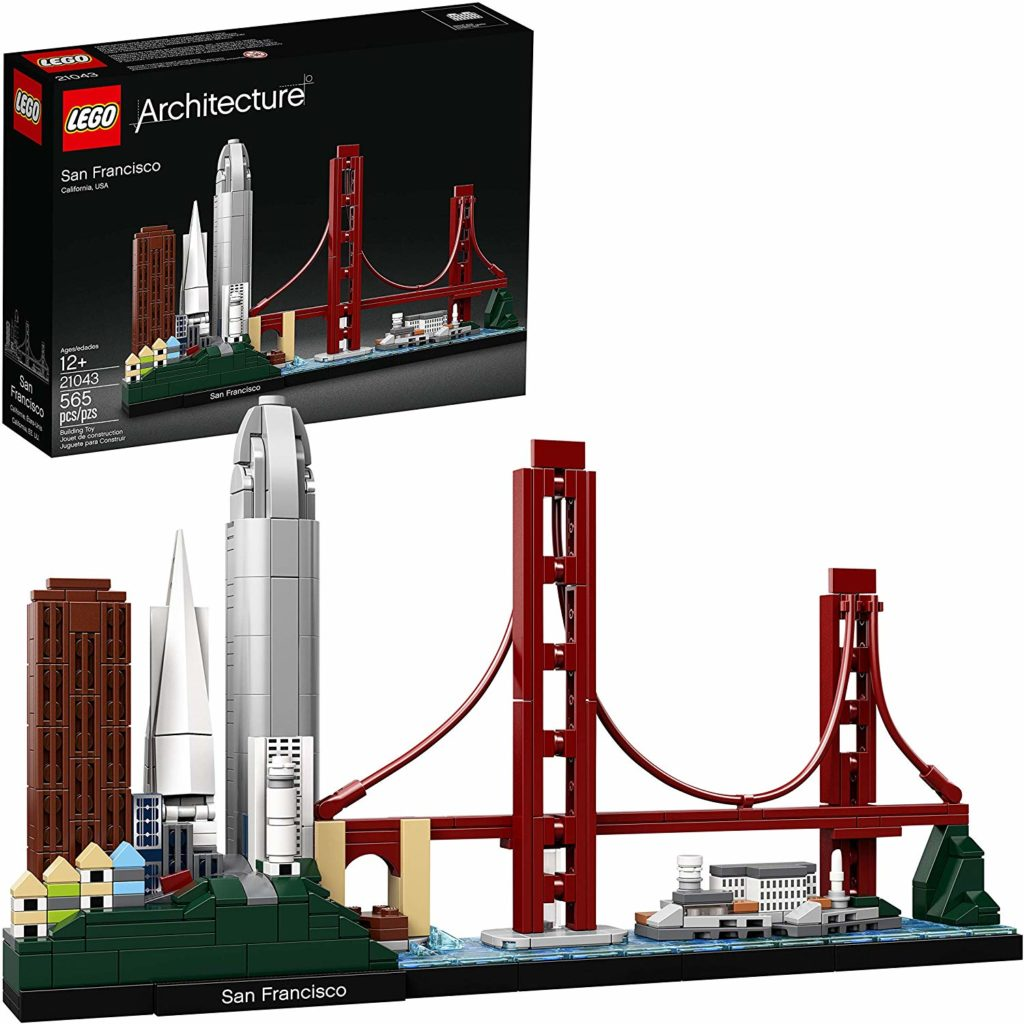 LEGO Architecture Sets: San Francisco Skyline