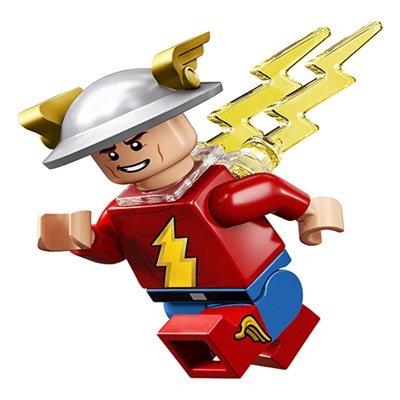 LEGO Collectable Minifigures DC Super Heroes Series Jay Garrick Flash