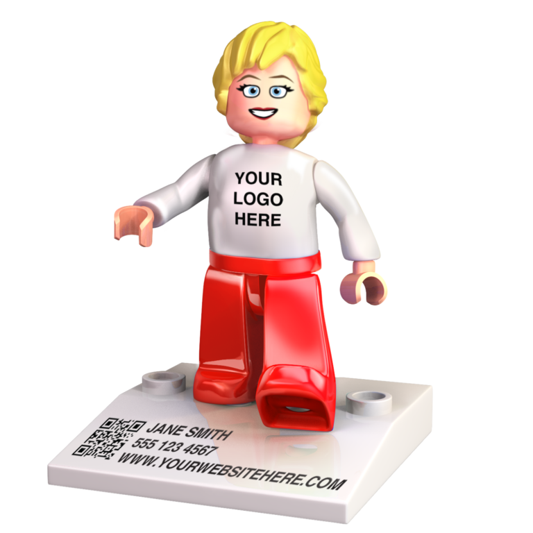 Branded Minifigures - Jane Smith