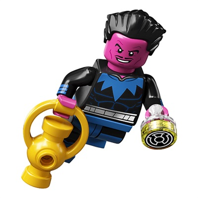 LEGO Collectable Minifigures DC Super Heroes Series Sinestro Minifigure