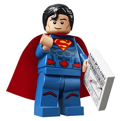 LEGO Collectable Minifigures DC Super Heroes Series Superman