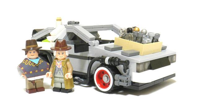 lego back to the future original design
