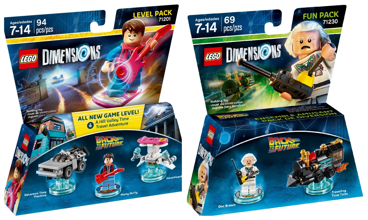 lego back to the future dimensions