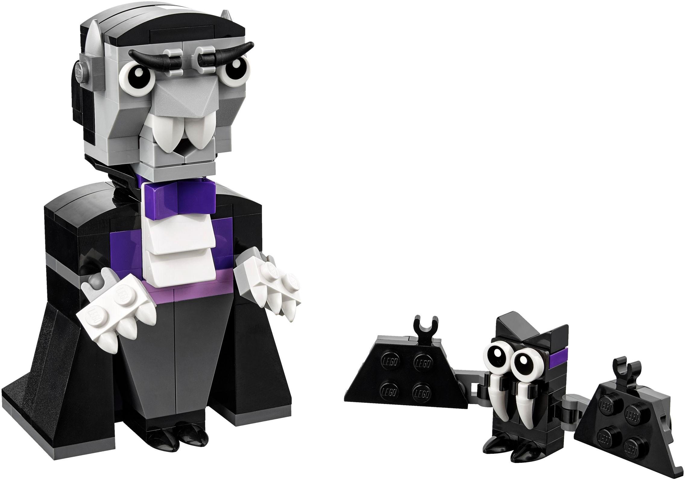 lego vampires brick built set