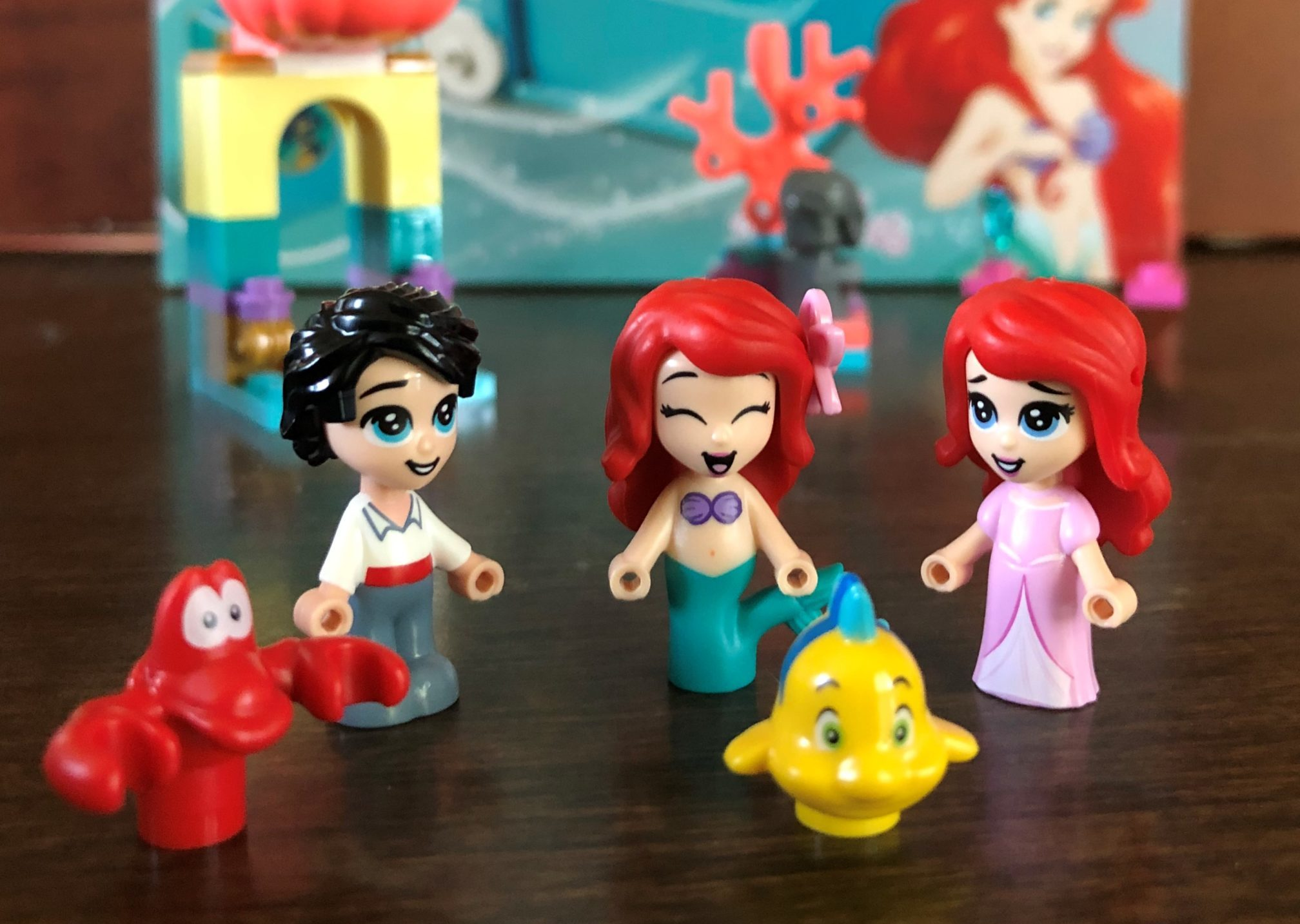 ariels storybook adventures figures