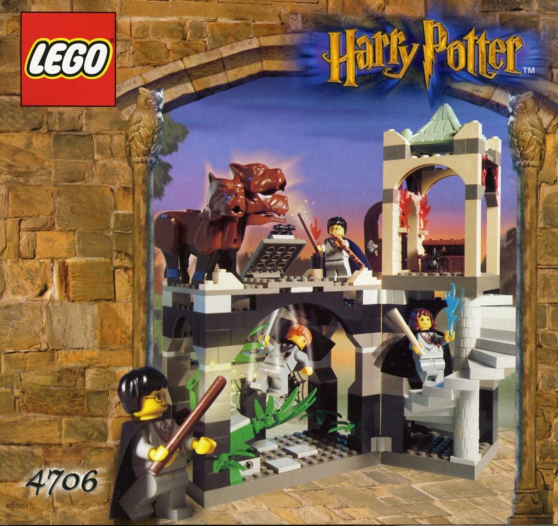 lego harry potter forbidden corridor
