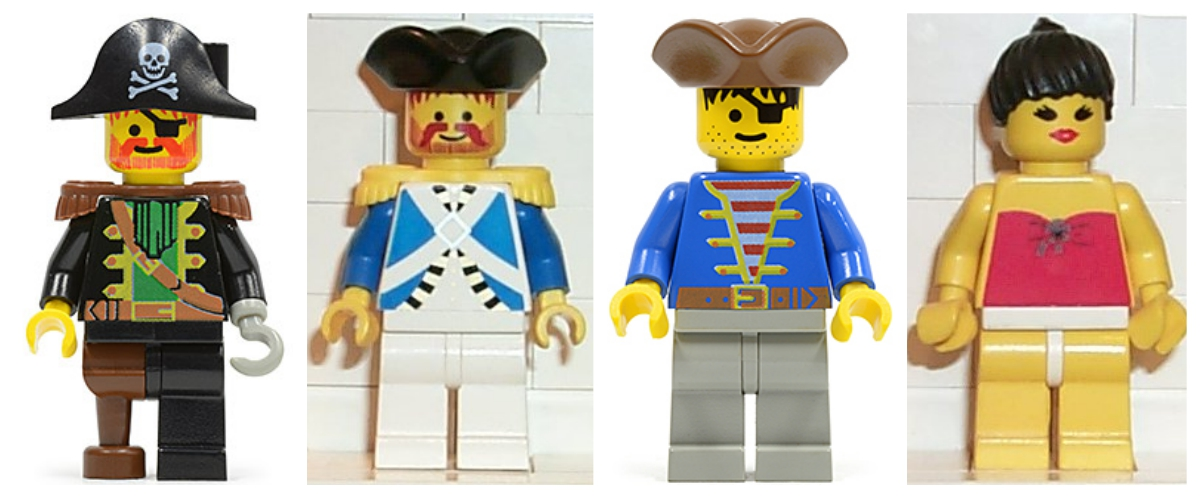 lego for adults: the minifigures