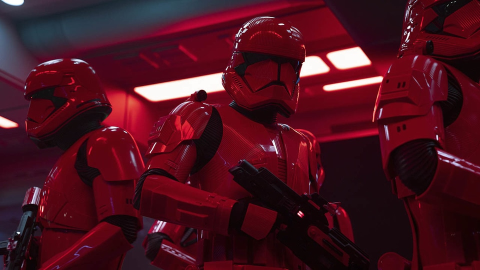 Sith Troopers in the film