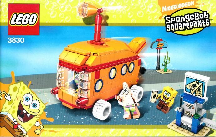 lego spongebob bikini bottom express