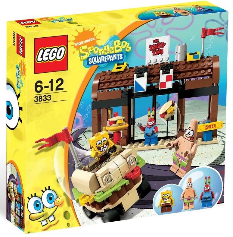 lego spongebob krusty krab adventures