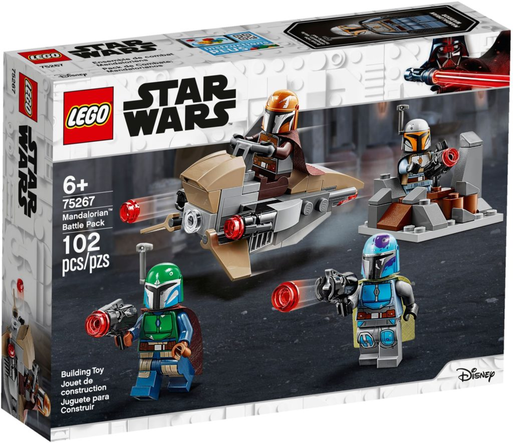 lego mandalorian battle pack box image