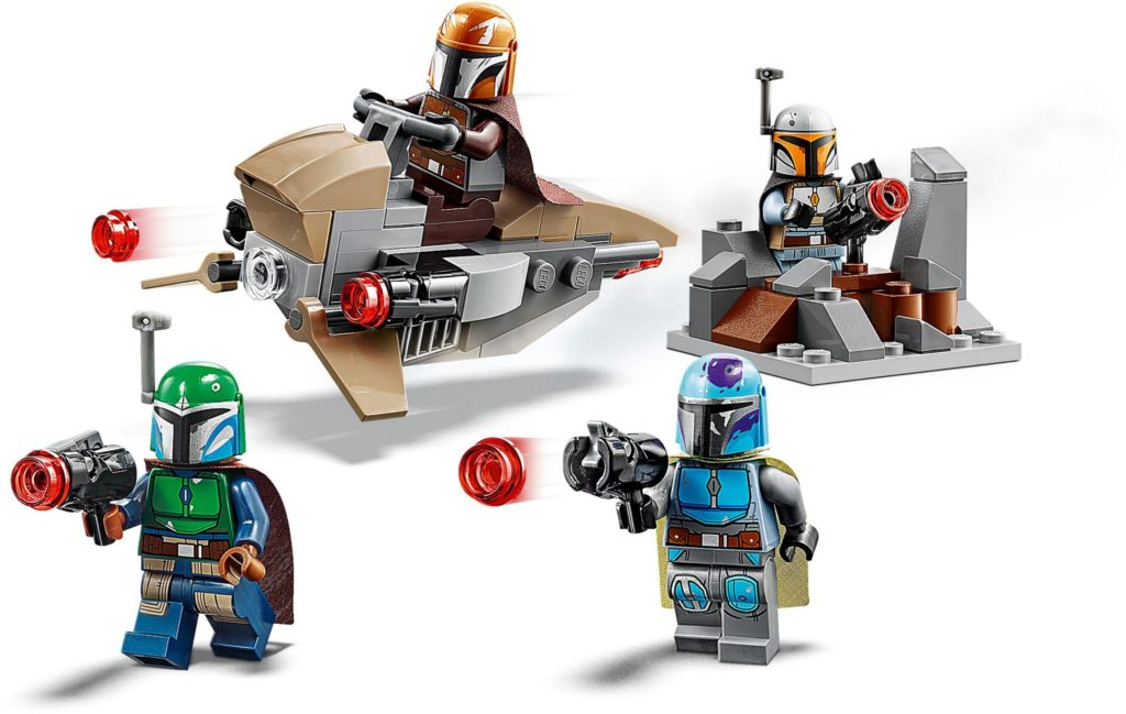 lego mandalorian battle pack minifigures