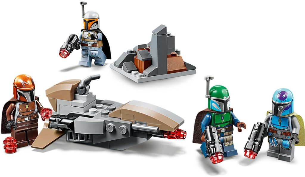 lego mandalorian battle pack