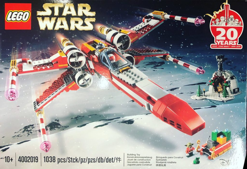 Exclusive LEGO - Christmas X-Wing
