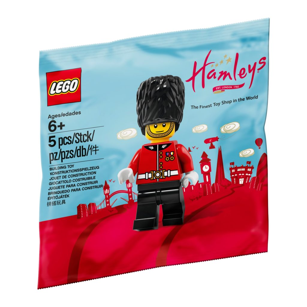 Exclusive LEGO - Hamleys Royal Guard Minifigure