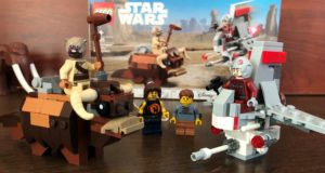 T-16 Skyhopper vs Bantha Microfighters: A Review of Set 75265