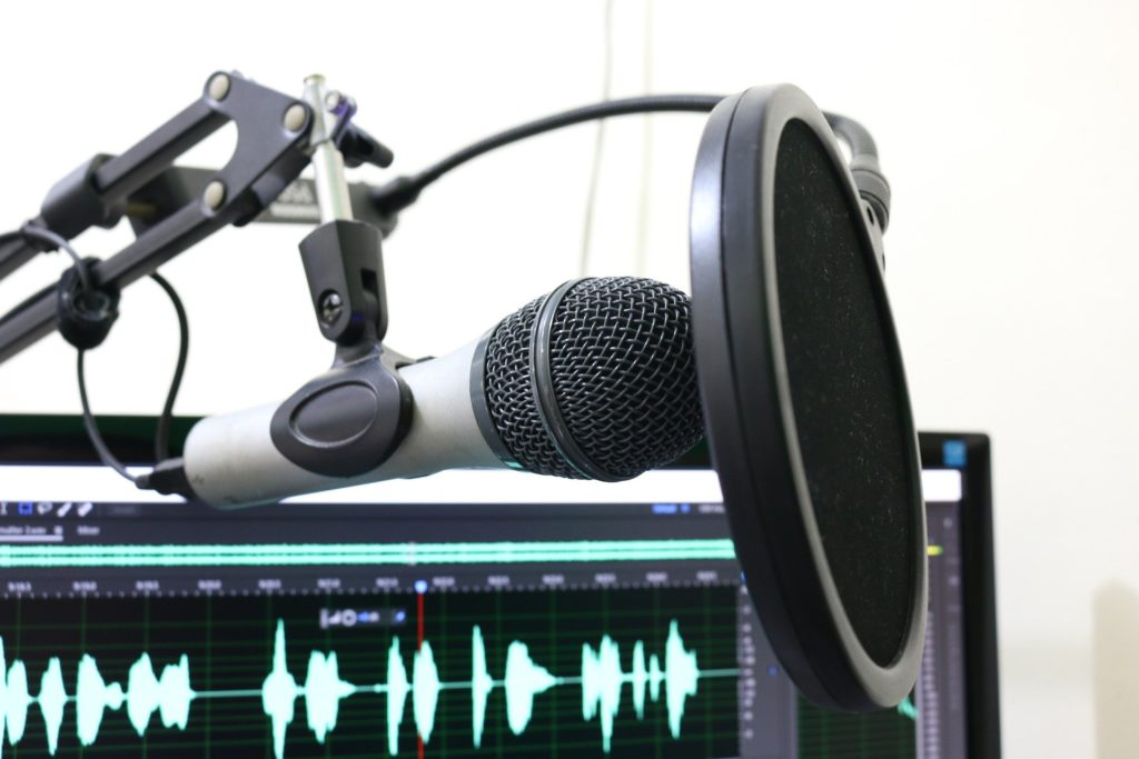 LEGO Podcast - Microphone Image