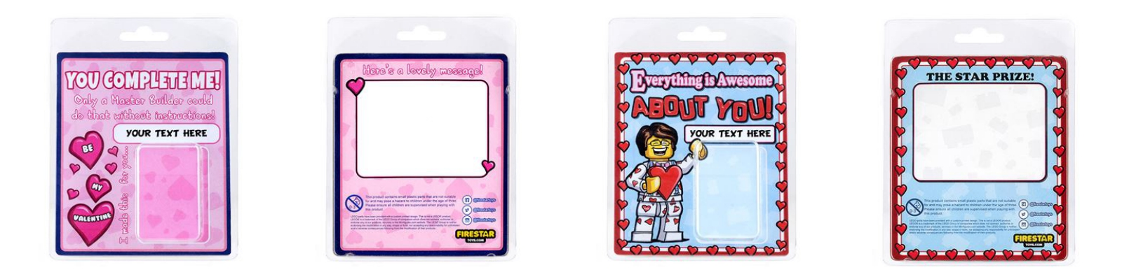 lego valentines packaging