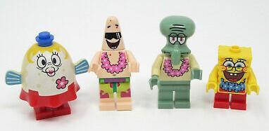 lego spongebob minifigures