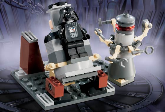 lego star wars vader's transformation