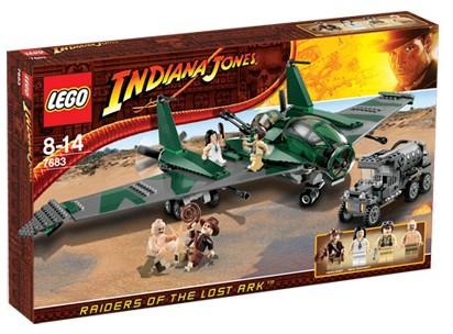 lego indiana jones fight on flying wing