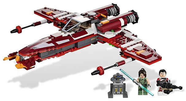 2012 LEGO Star Wars Starfighter