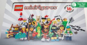 LEGO Collectible Minifigure Series 20 Announced at New York Toy Fair!