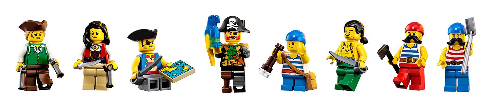 Pirates of Barracuda Bay minifigures