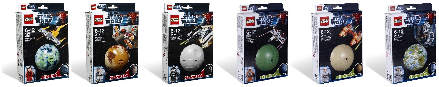 2012 LEGO Star Wars Planet Series