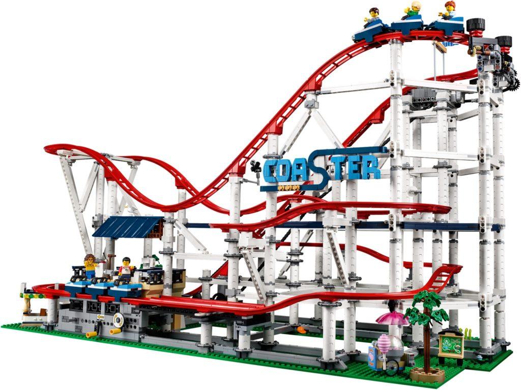 lego theme park roller coaster