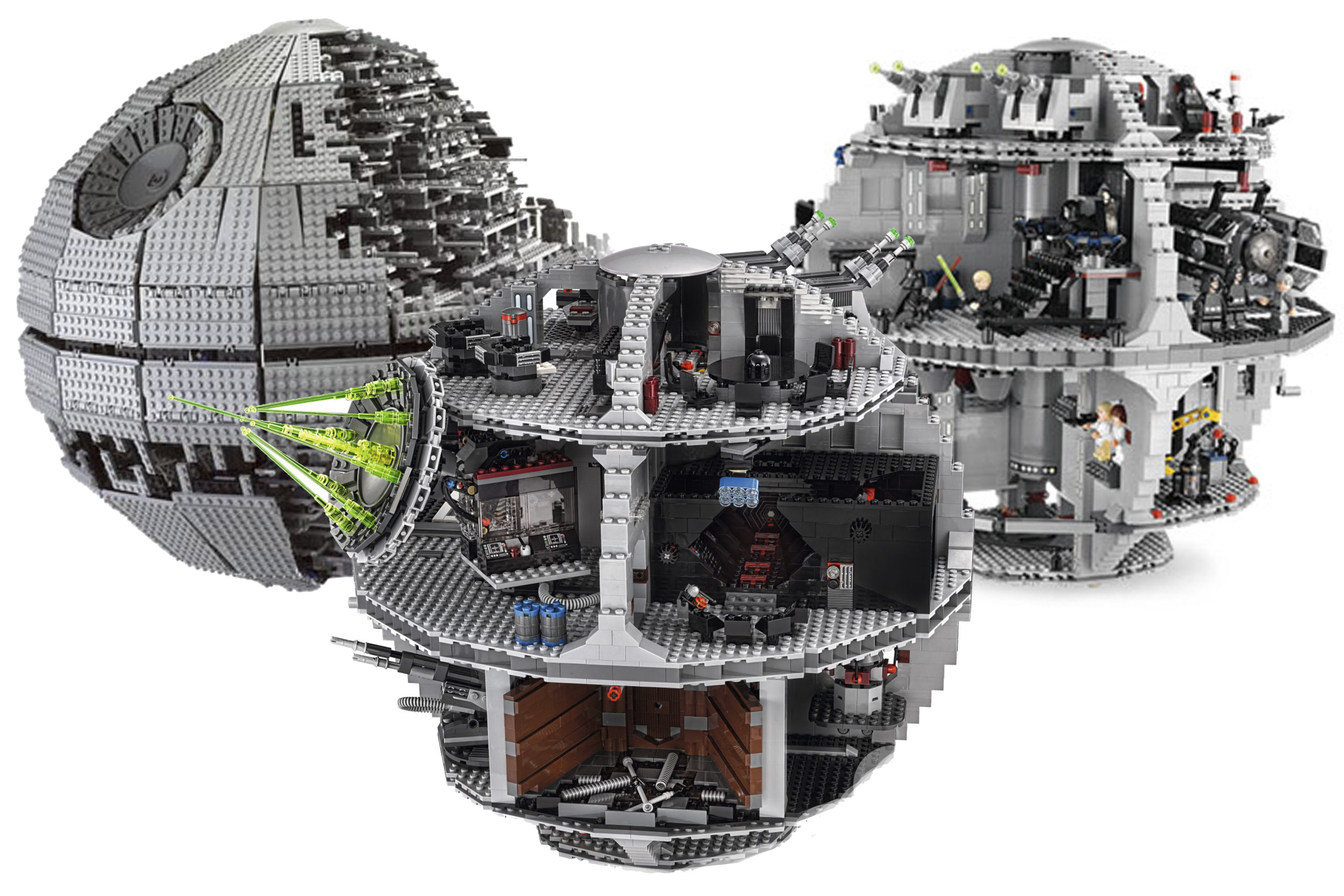 LEGO Death Star - which one is better? - All 3
