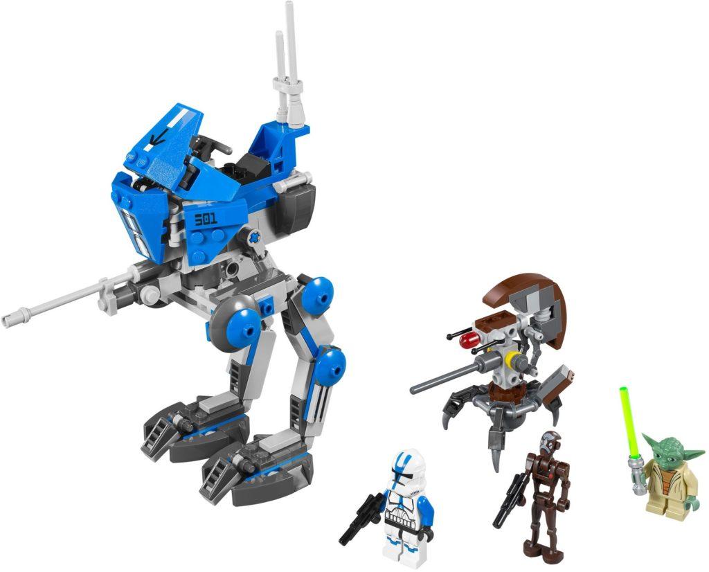 LEGO Phase II Clone Trooper - 501st AT-RT Set