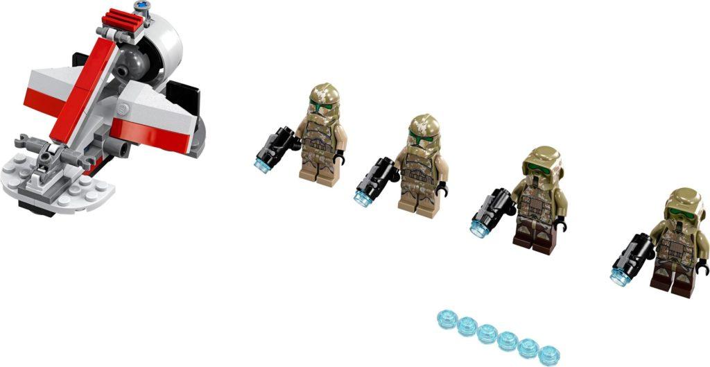 LEGO Phase II Clone Trooper - Kashyyyk troopers