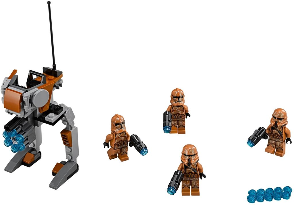 LEGO Geonosis Clone Troopers Set