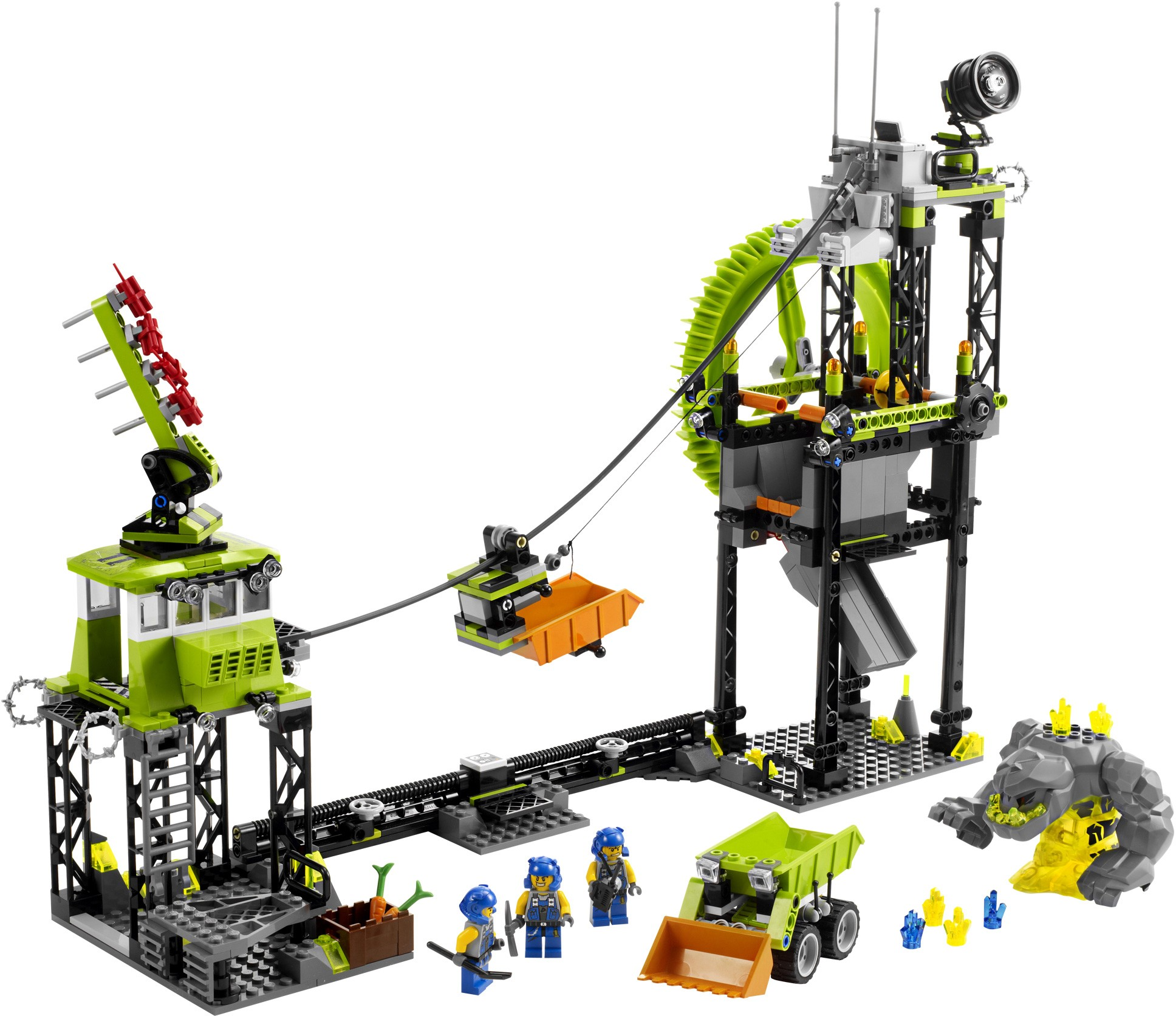 lego power miners mining station