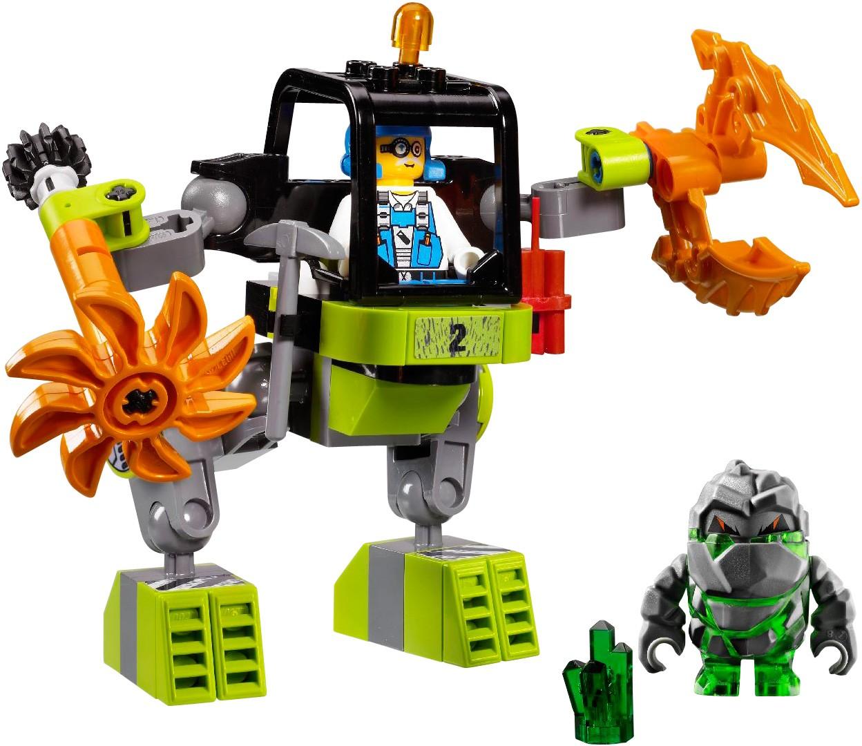 lego power miners mine mech
