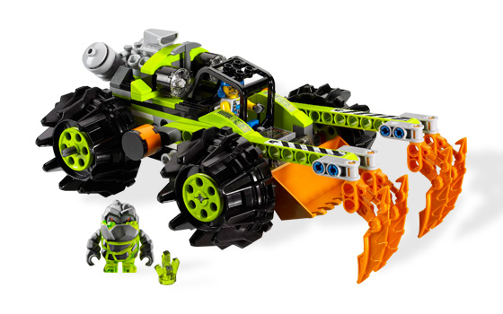 lego power miners claw digger